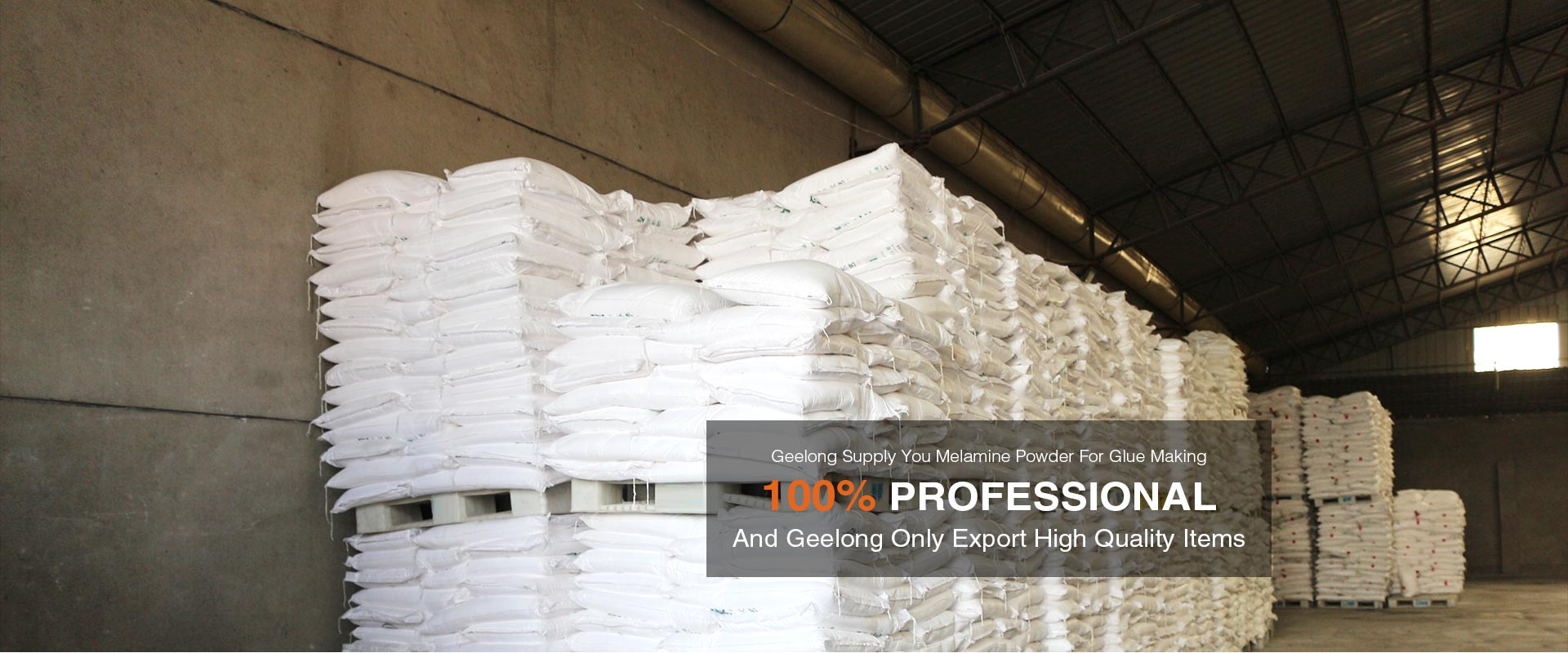 Geelong Supply Melamine Powder for Glue Making