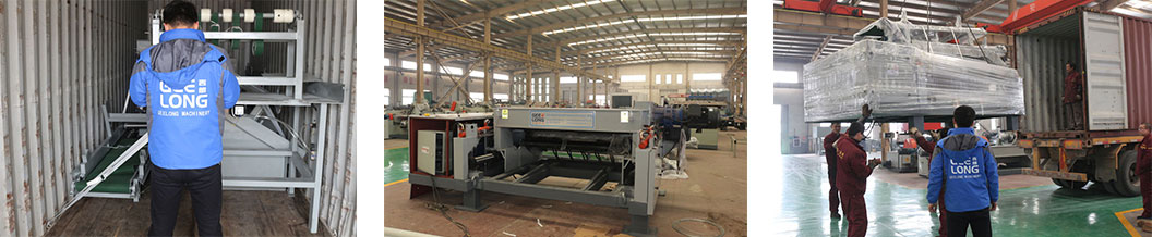 4ft spindleless veneer peeling machine exported to Malaysia