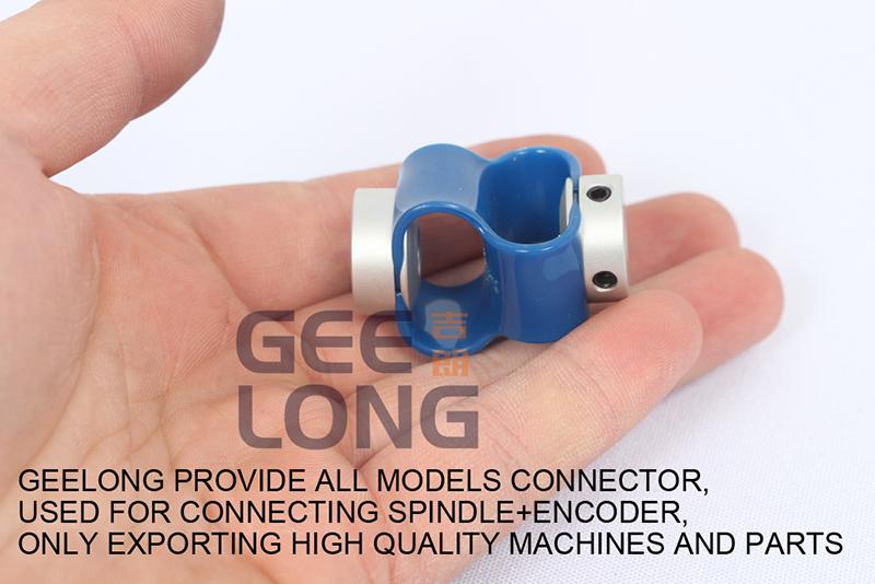 encoder connect for veneer peeling machine