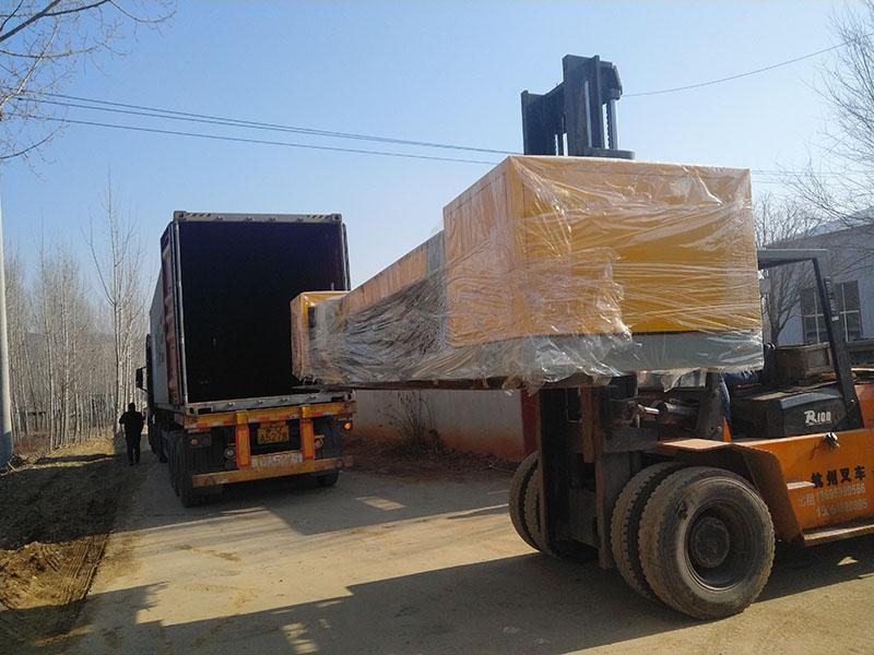 Heli forklifter machine, melamine powder, small log peeling machine exported to Indonesia