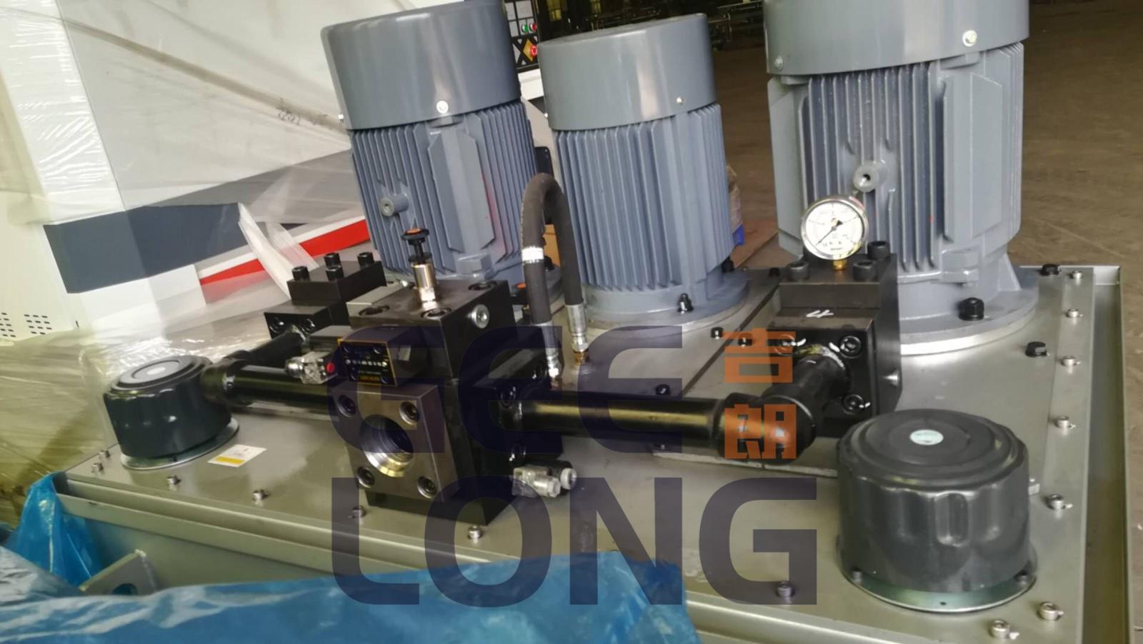Hydraulic station of plywood hot press machine