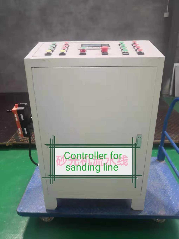 plywood machine controlling panel