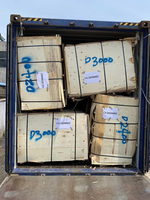 Birch veneer exported to geelong clients