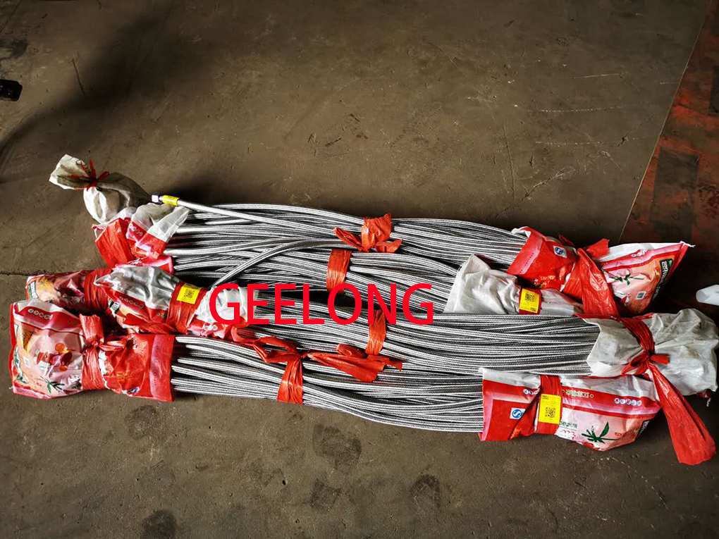 Plywood hot press stainless steel 304 hose