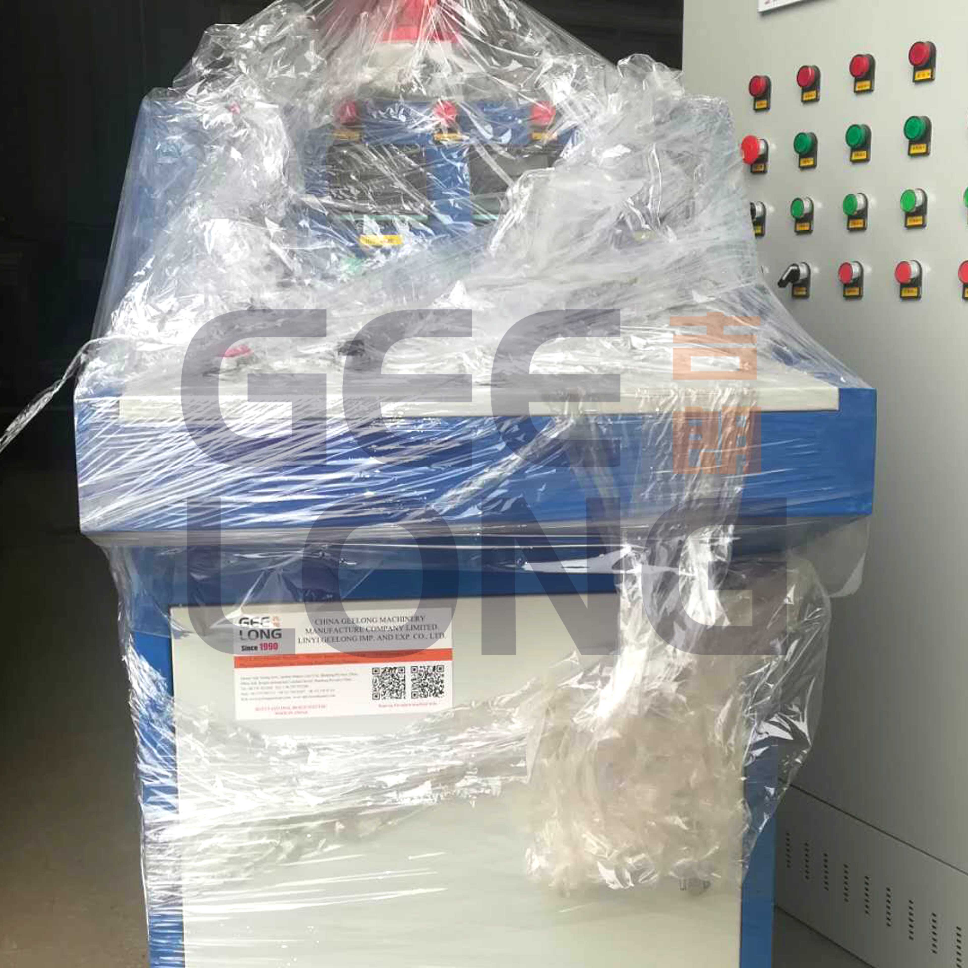 Electric control cabinet for boiler
