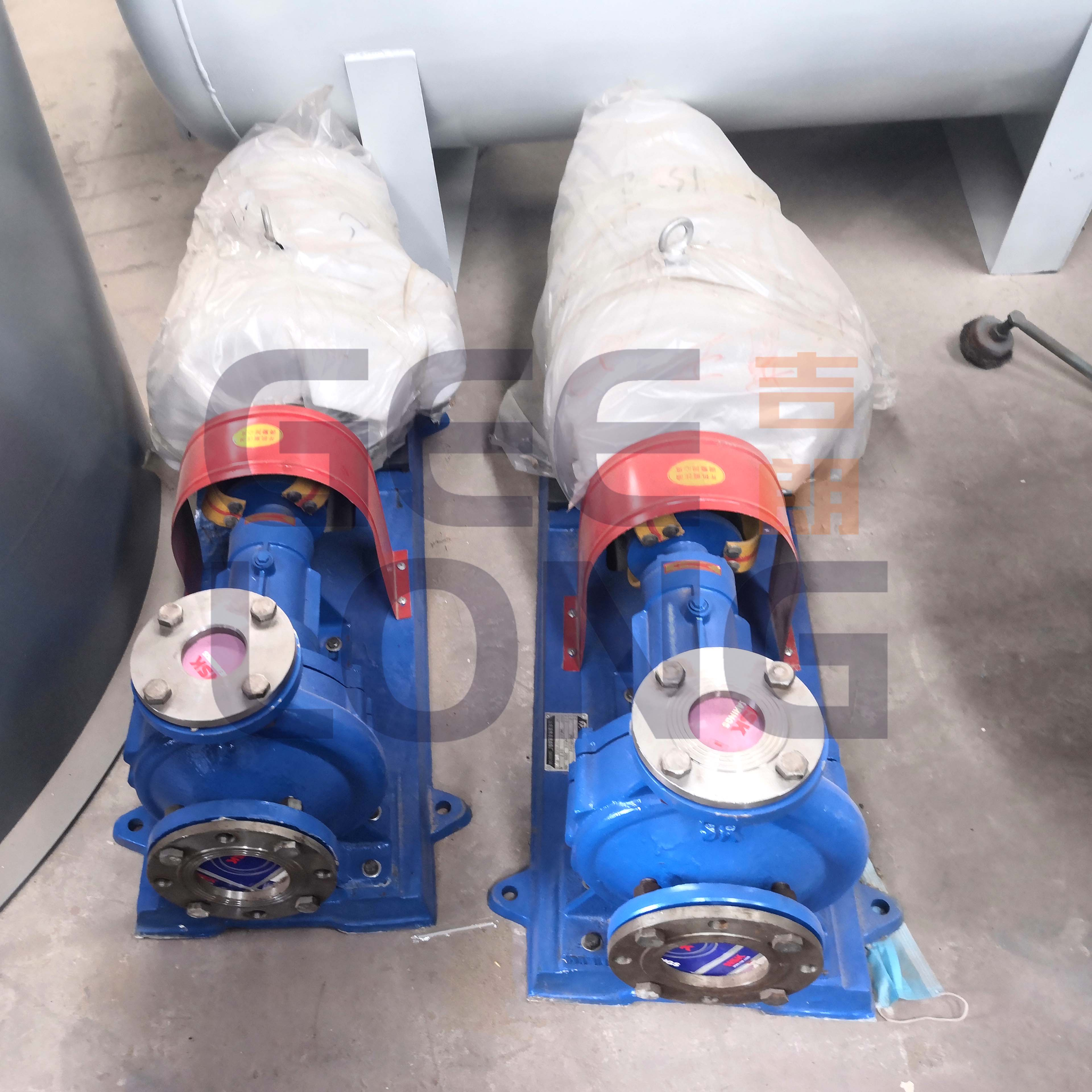 Circulating pump for boiler