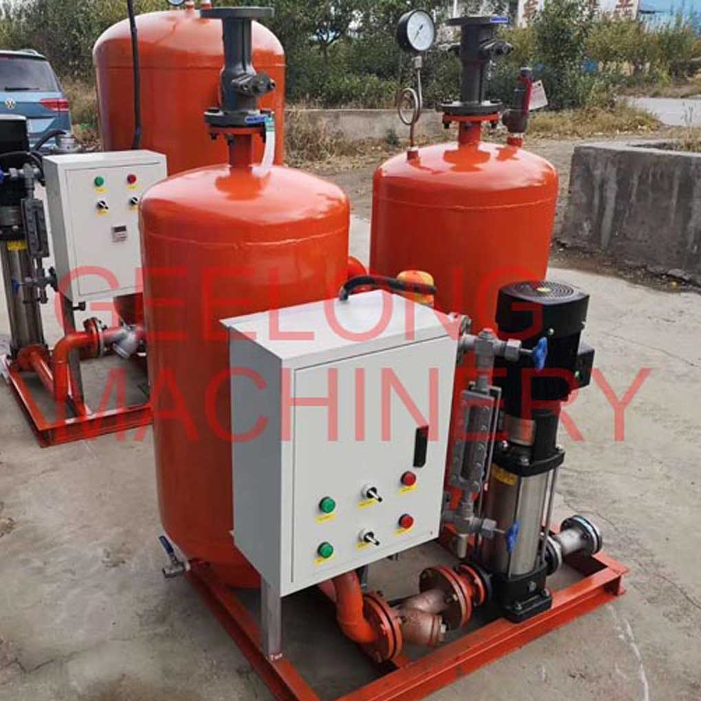 plywood hot press machine used steam recovery machine