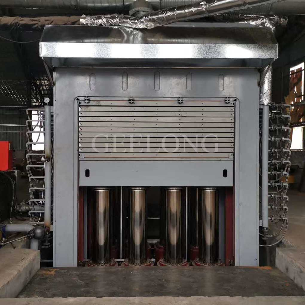2800T hot press machine for Piano plywood