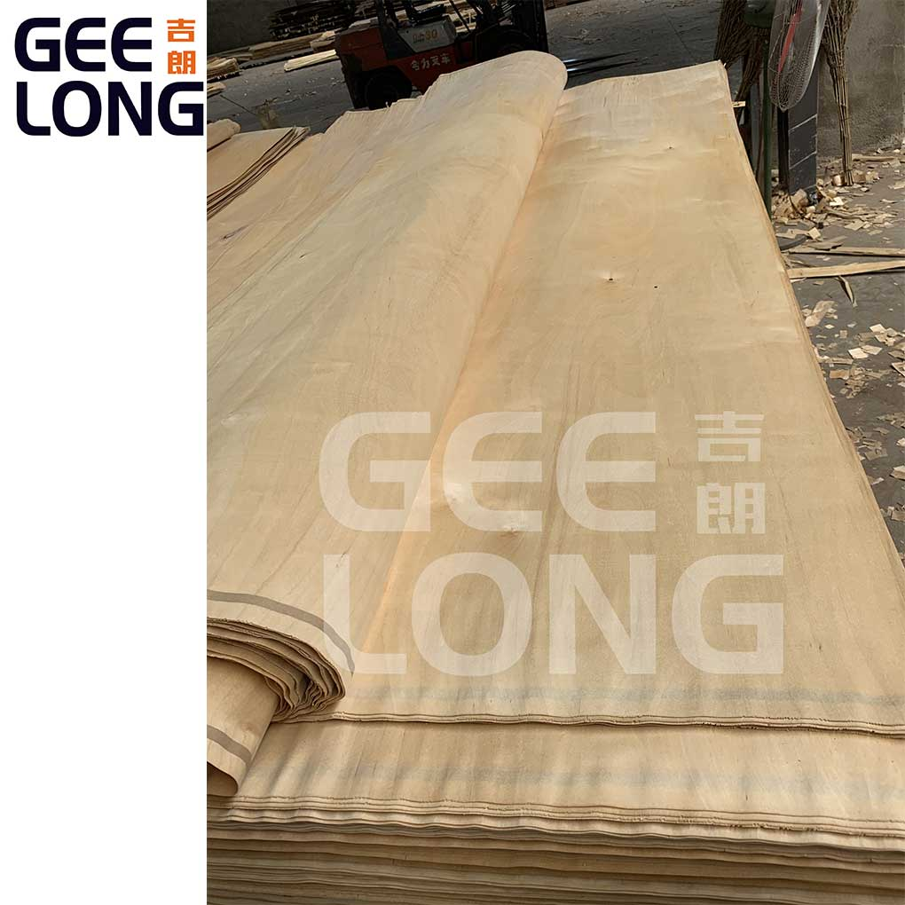 China birch face veneer for exporting